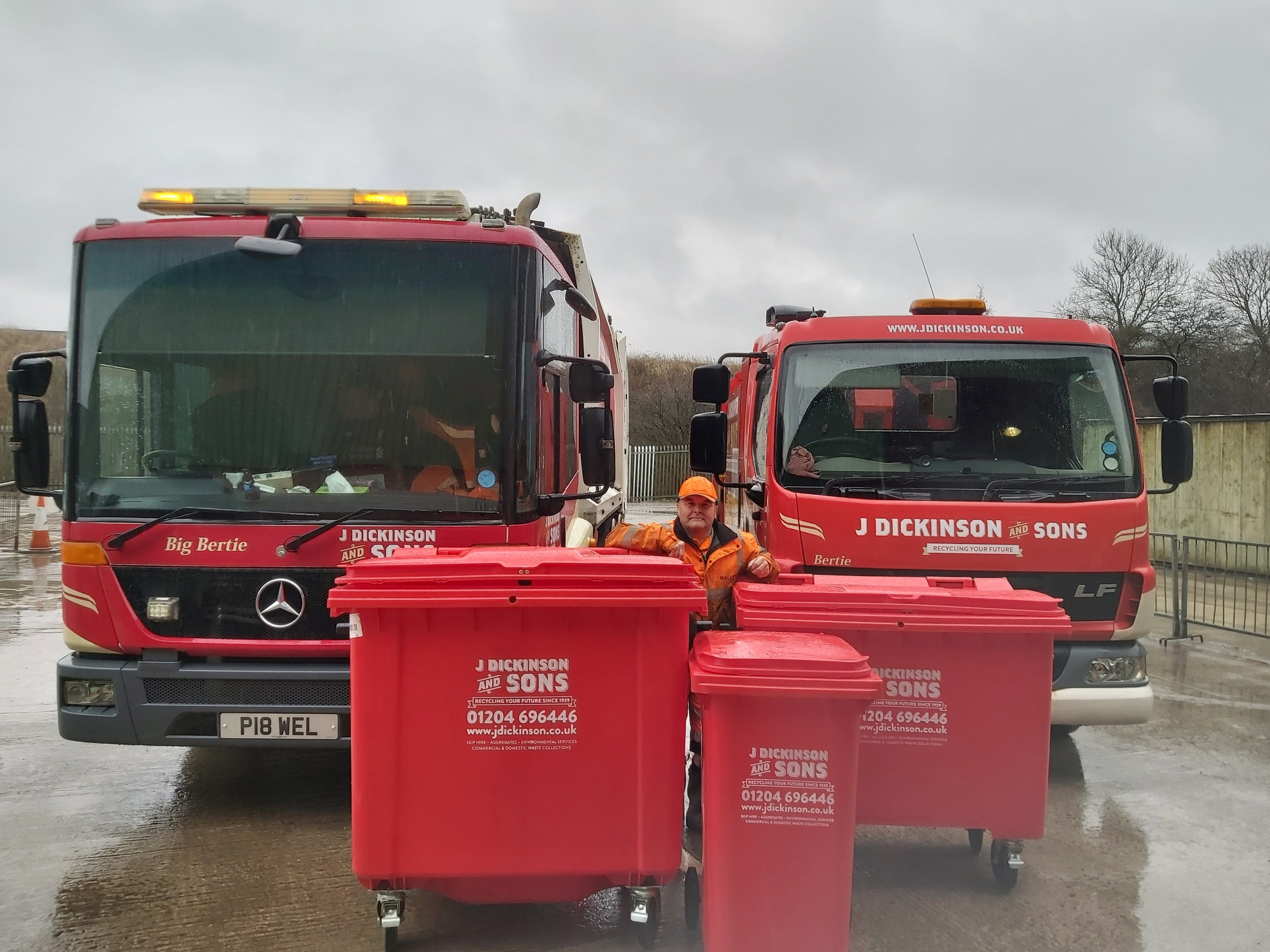 bin collection services